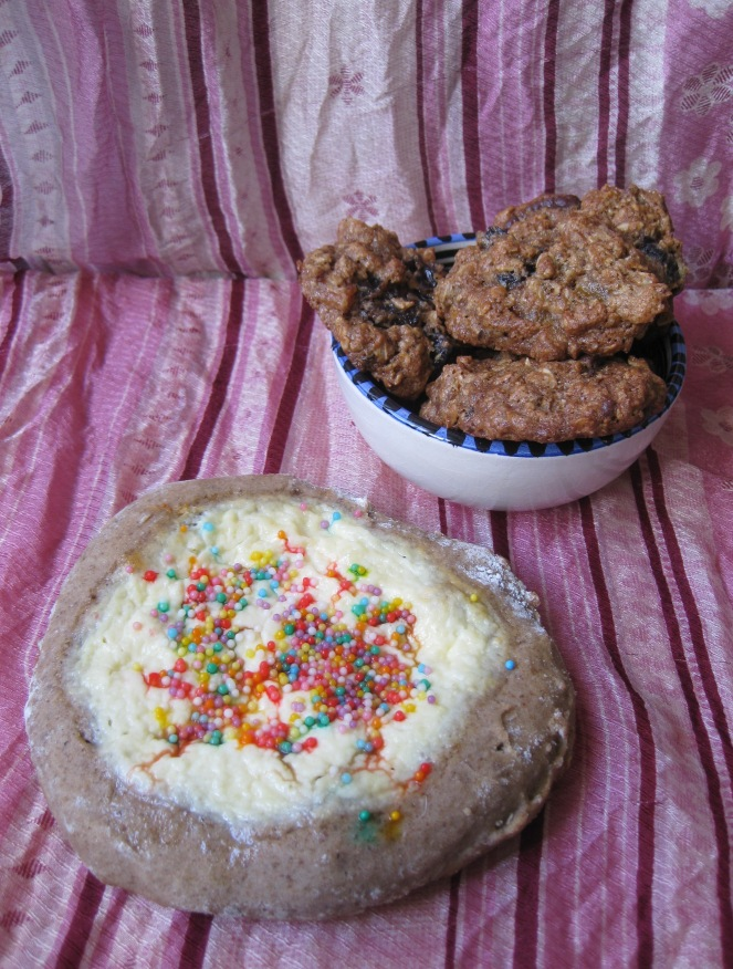 Vatrushka with Chococookies
