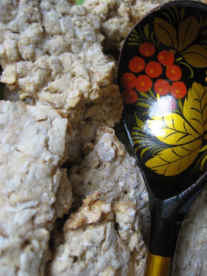 oatmeal 'European' cookies