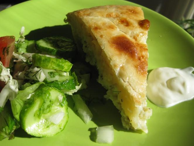 Georgian cheese bread from nami-nami.blogspot.com