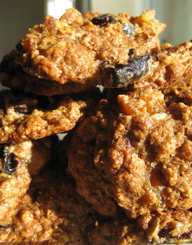 Healthier Oatmeal Chocolate Chip Cookies after