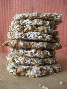 Savoury Oat Crackers
