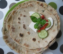 Lemon and Parsley Wheat Flatbread