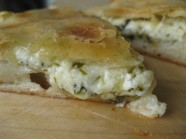 Ualibah, Ossetia Brined Cheese Pie
