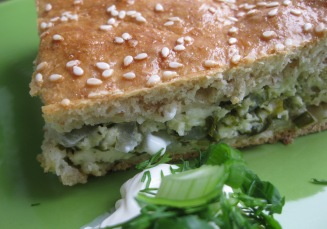 Aromatic Green's Pie