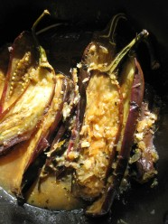 Eggplant Stewed in Honey and Spices