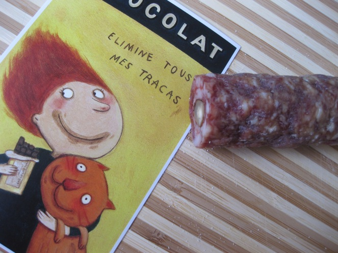 Chocolat et saucisson