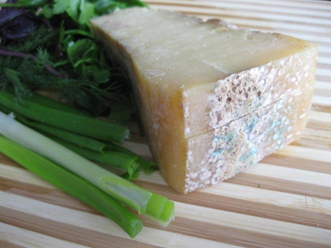 formaggio e verdura