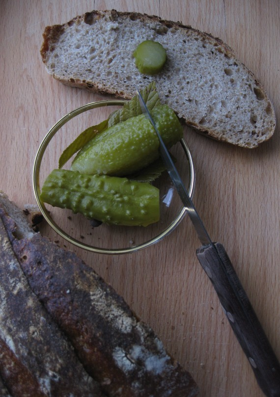 SÖDER LIGHT RYE + pickled cucumbers