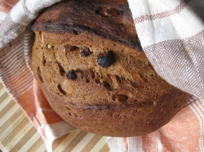 Black Bread with White Seeds