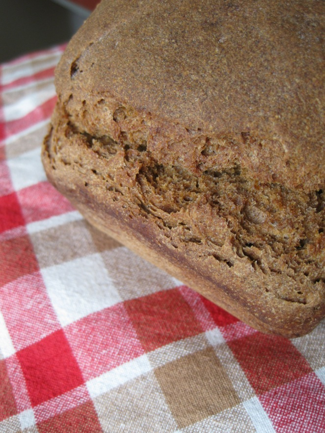 Sourdough Rye Bread with Malt