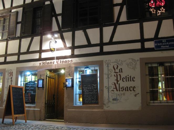 La Petite Alsace restaurant, Petite France