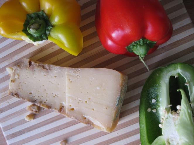 Colori e formaggio italiani