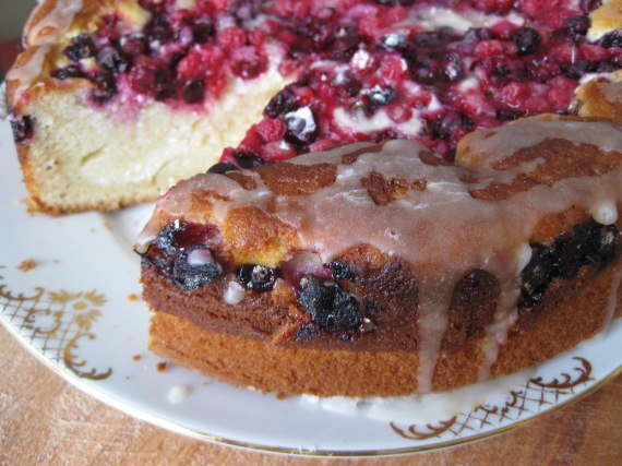 Blueberry Cheese Danish Cake