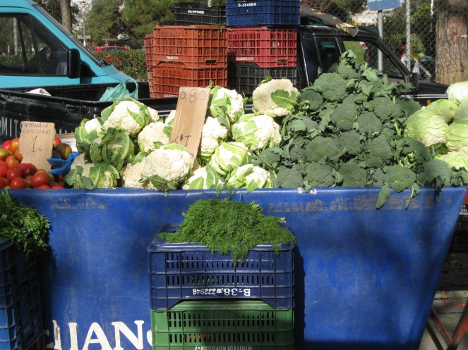 Friday's vegetable market