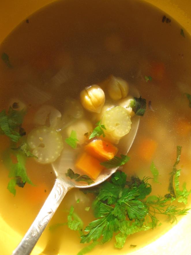 CC's Greek Chickpea Soup