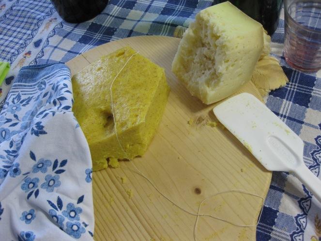 polenta e formaggio