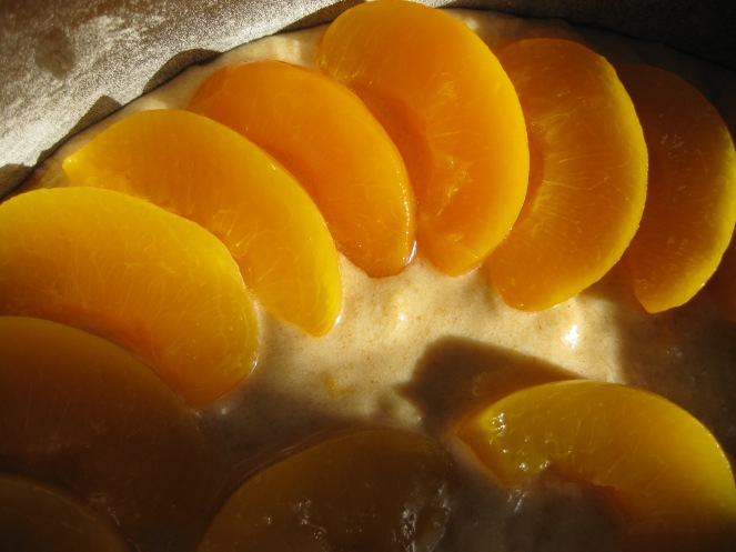Peach & Honey Cake