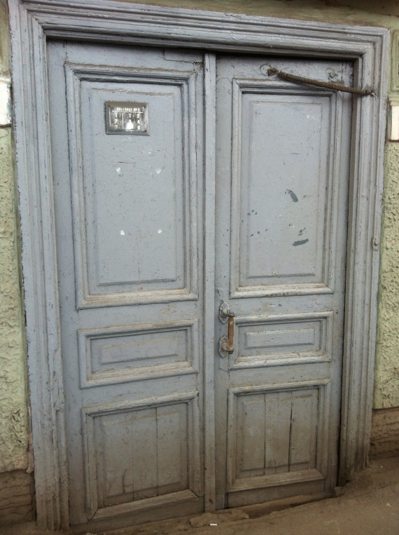 door on Fontanka