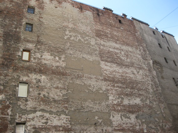 typical blind wall