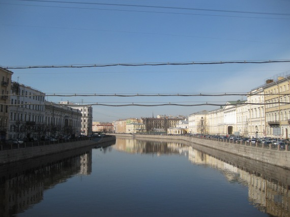 Anichkov Bridge over Fontanka