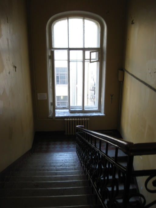 typical staircase in the centre