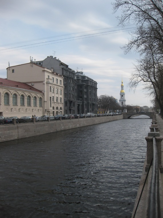 Nikolskaya Churh on Kryukov Canal