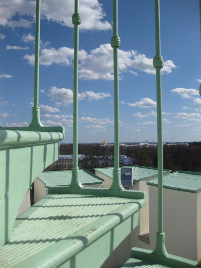 view from the White Tower, Tsarskoye Selo