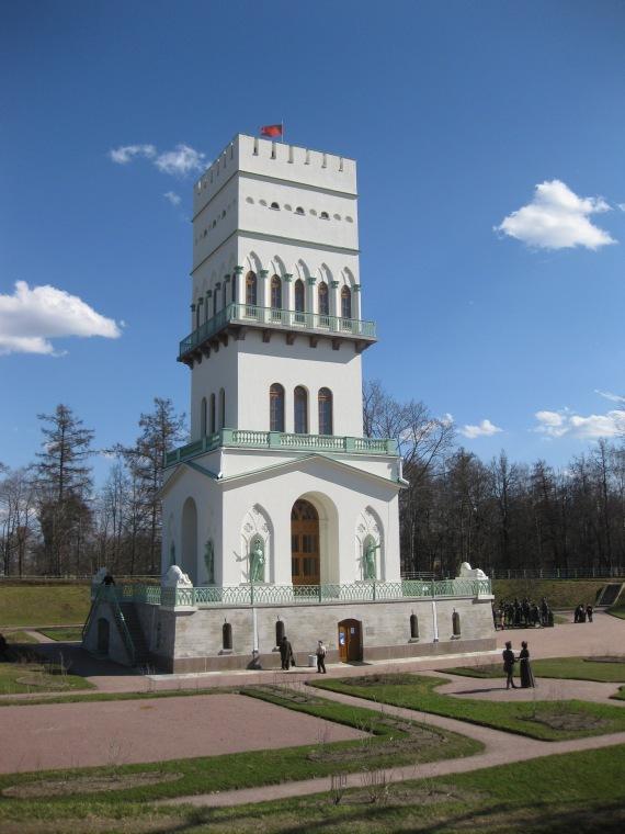 the White Tower, Tsarskoye Selo