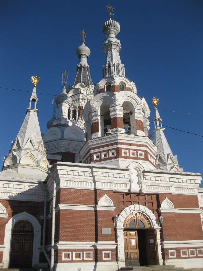 St Nikolay Chudotvorets Church, Pavlovsk