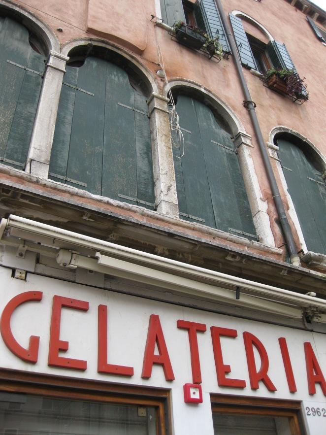 una gelateria di Venezia