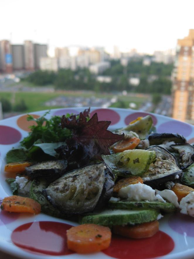 Zucchini and Aubergines ala 23