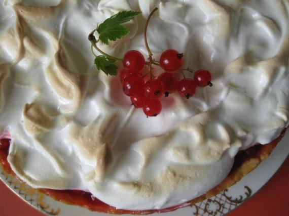 Red Currant Meringue Pie