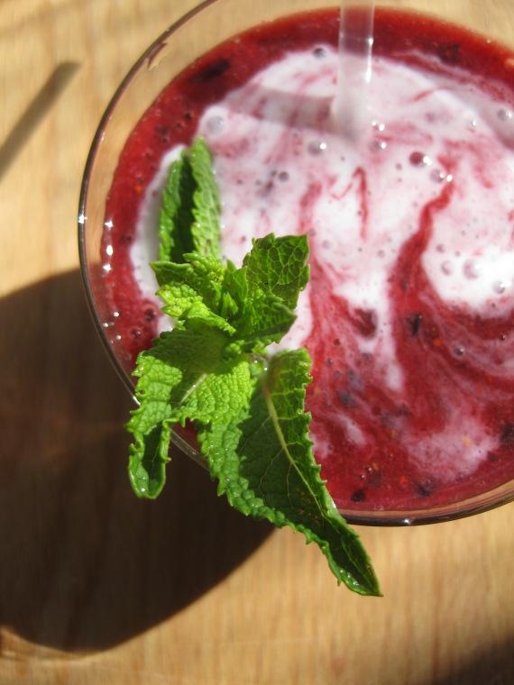 berry smoothie