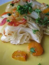 Baked Cabbage Wedges