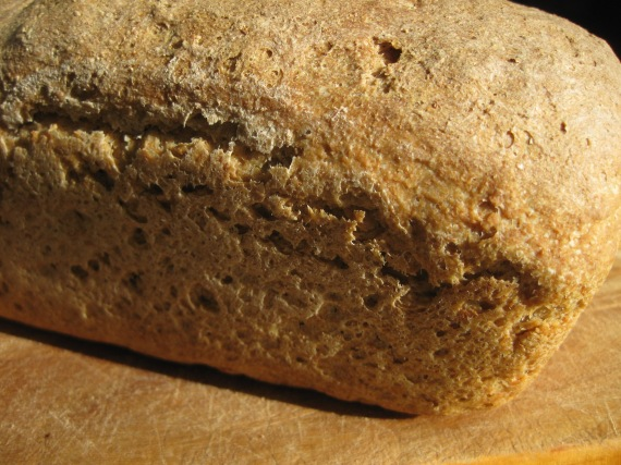 Sourdough Oatmeal Bread from meditationsandbread.com