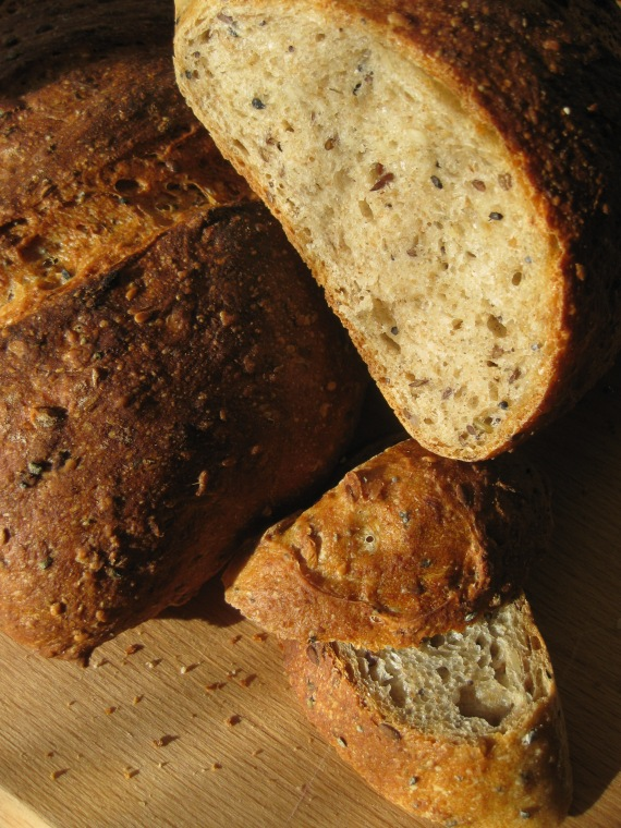 Multigrain Bread from www.annies-eats.com