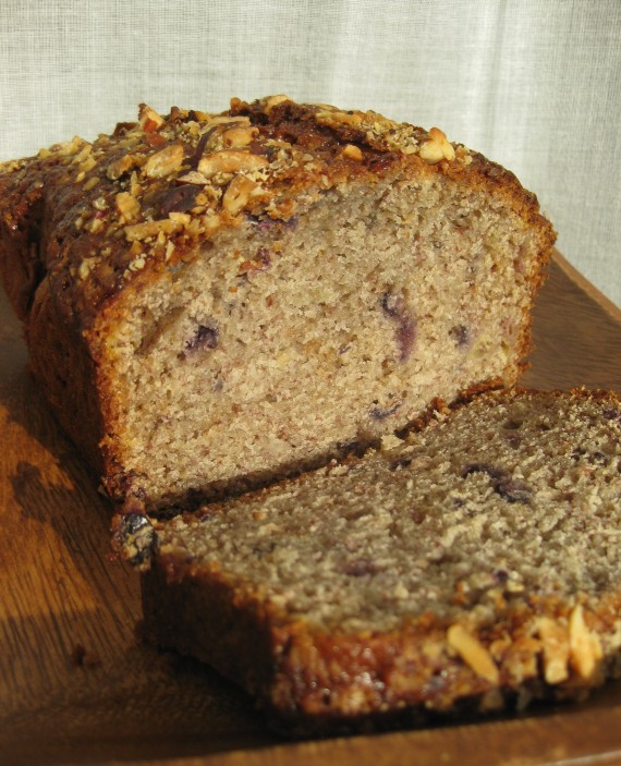 Walnut, date & honey cake from www.bbcgoodfood.com