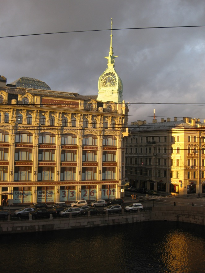 view from the window, St Petersburg