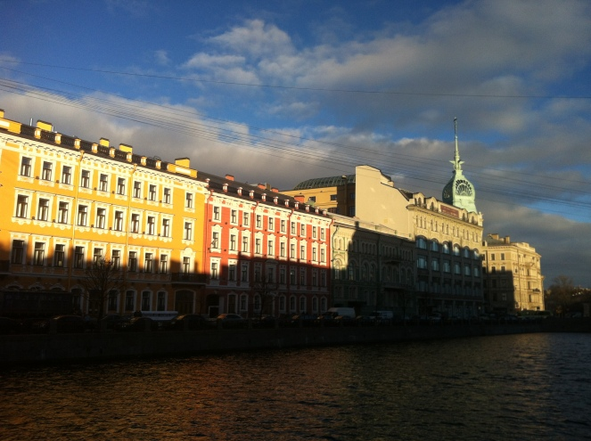 River Moyka Embankment, St Petersburg