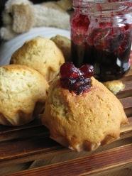 Jelly Doughnut Muffins from www.confessionsofacookbookqueen.com