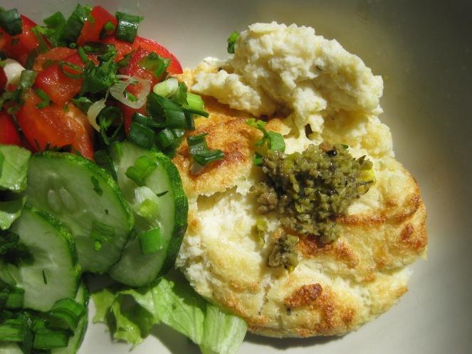 Cheesy Cauliflower Soufflé (Low Carb & Gluten-Free) from www.theironyou.com