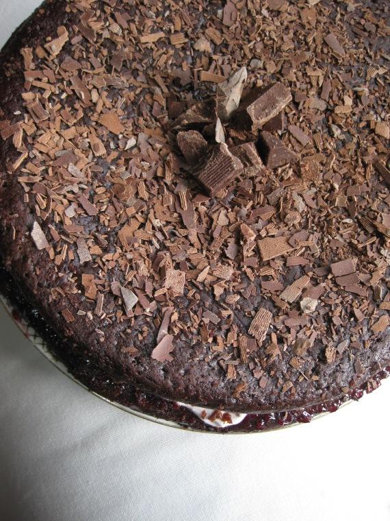 Sinful Midnight Cake from thejoyofcaking.wordpress.com