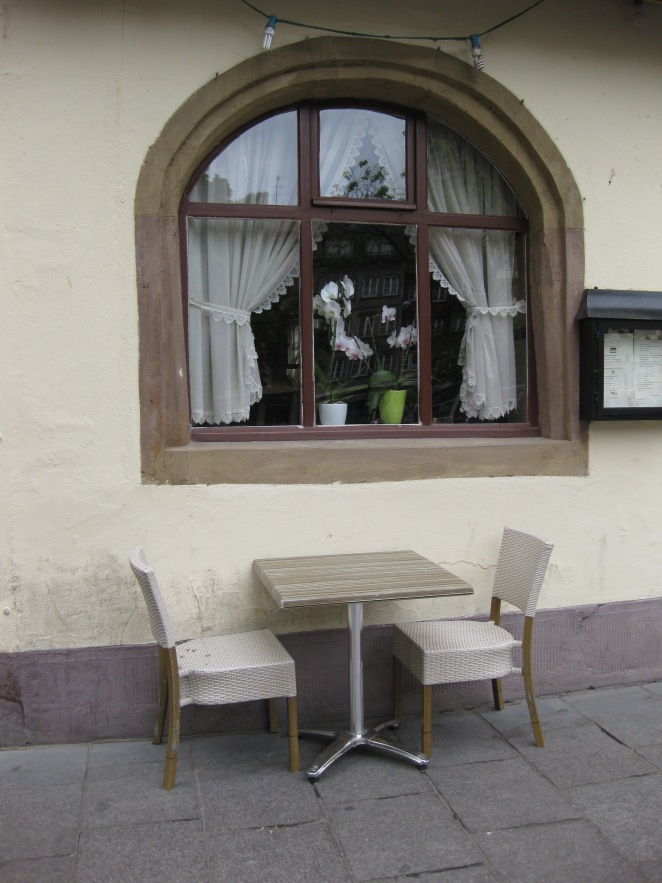 A restaurant in Strasbourg