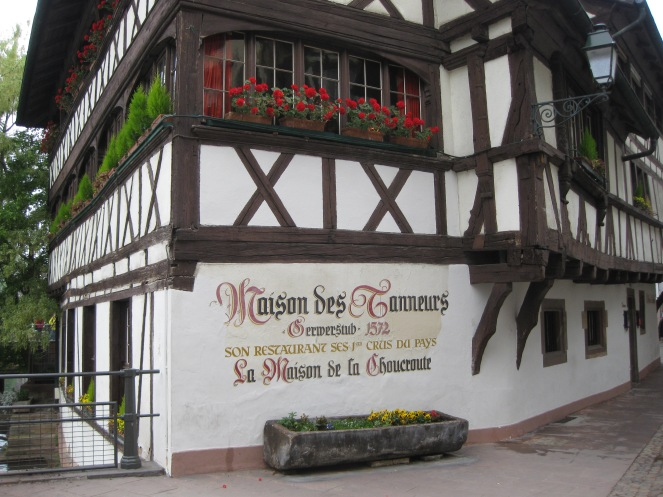 A restaurant in Petite France