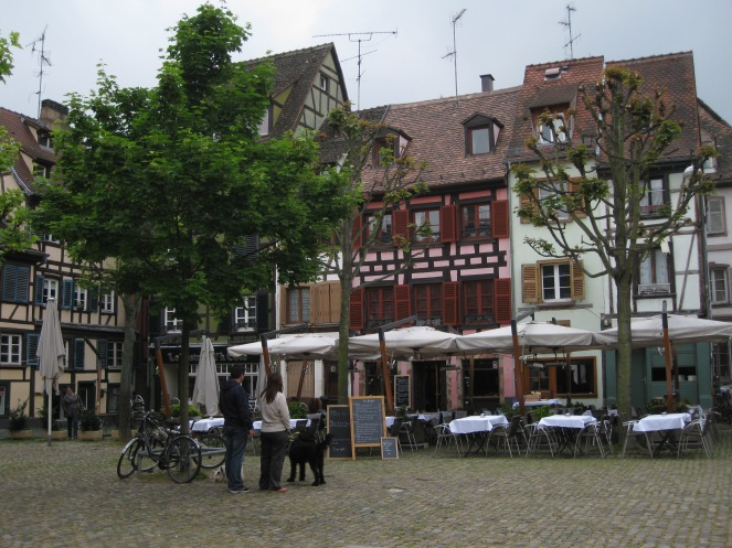 A food place in Strasbourg