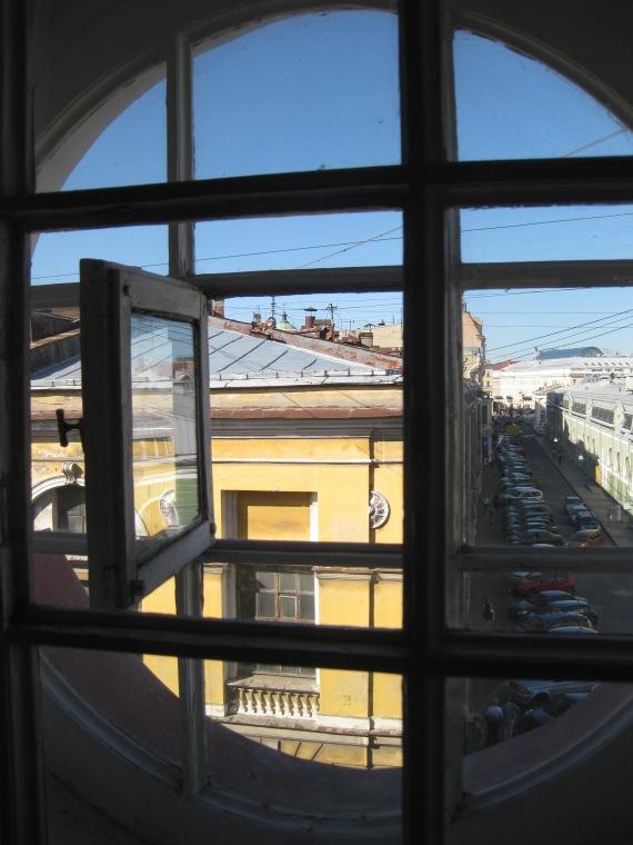Looking over Gostiny Dvor, St Petersburg