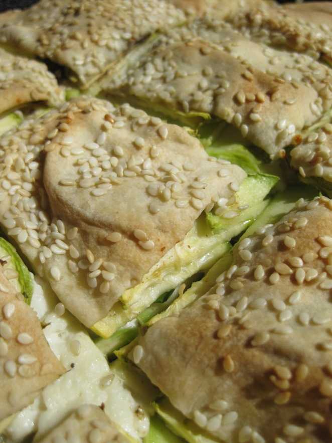 Kolokithoboureko or Greek Zucchini Cheese Pie from www.greek.ru