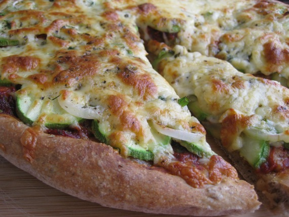 Flax Seed Pizza Crust from www.kingarthurflour.com