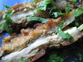 Melanzane in Carrozza (Eggplant Sandwiches) from cookingwithrosie.blogspot.com