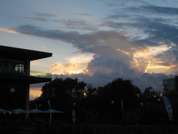 Sunset in Blagoevgrad